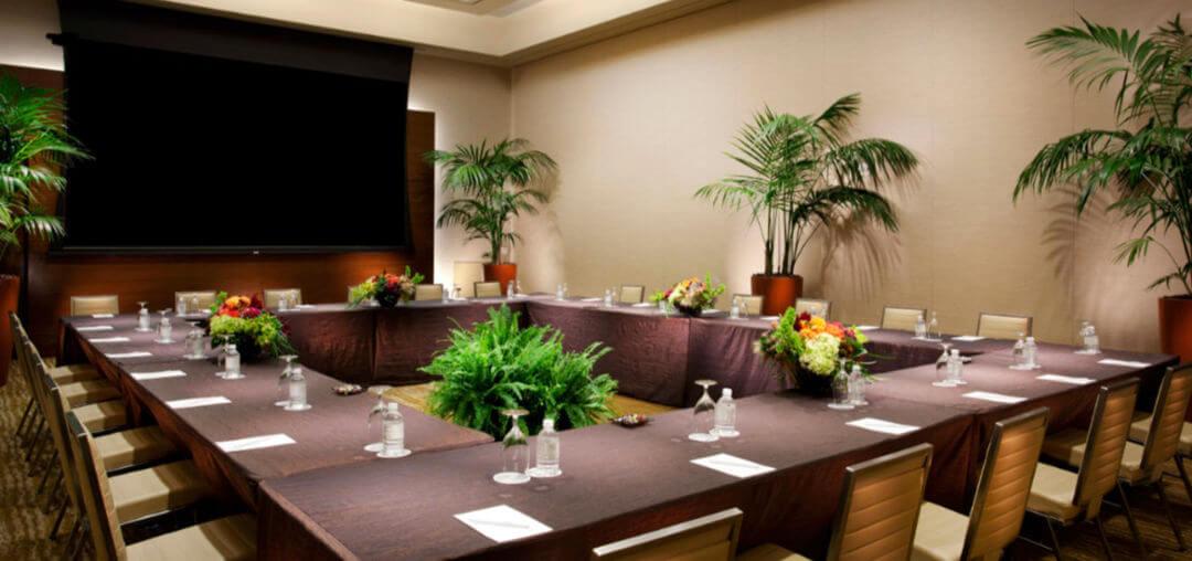 Decoración sala de reuniones